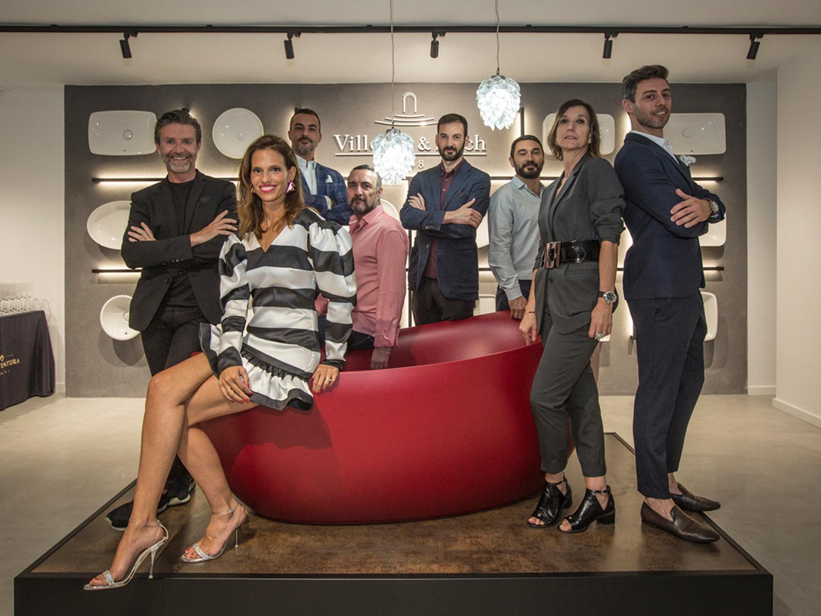 Villeroy & Boch opened a new space in Barcelona.