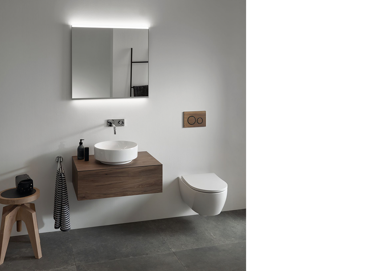 Geberit Variform with iCon WC.