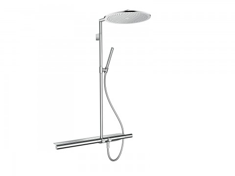 The Axor ShowerPipe 800 by Hansgrohe.