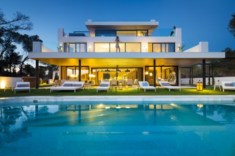 Ibiza house.