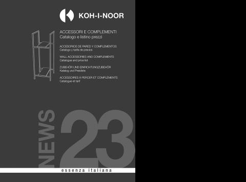 Koh I Noor Catalogue.