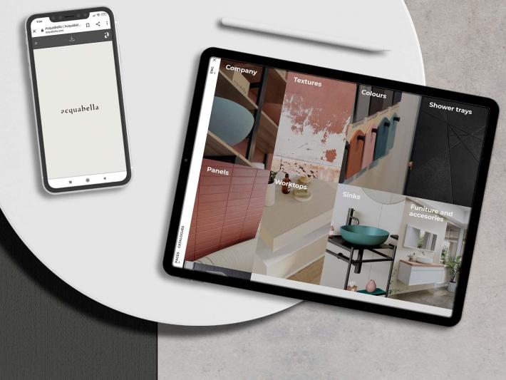 Acquabella interactive catalogue.