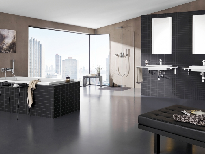 Cube Ceramic line by Grohe.