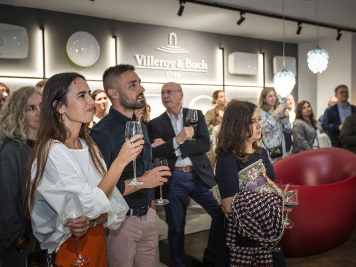 Villeroy & Boch opened a new space in Barcelona.