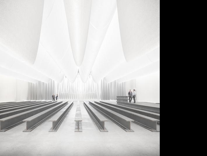 BBConstrumat room, designed by Josep Ferrando.