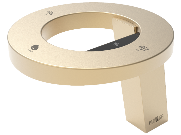 Concept3 by Nofer, Gold finish.