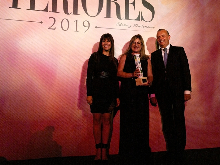 Jordi García and Silvia Tous of Nofer received the Interiores award.