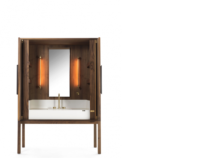 The DeKauri Bath Credenza by Cosentino.