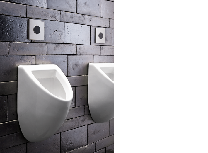 Bathroom Urinal Sigma10 by Geberit.