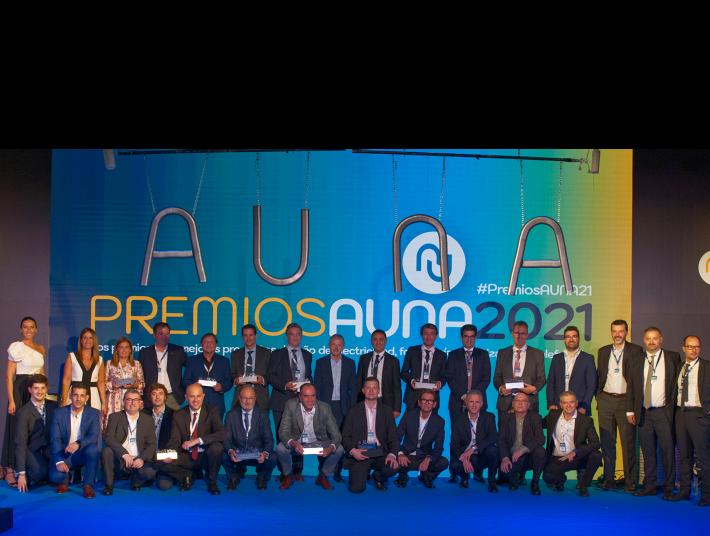 Premios AUNA 2021.