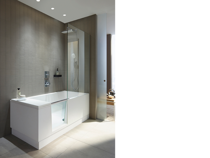 Shower+Bath by Duravit.