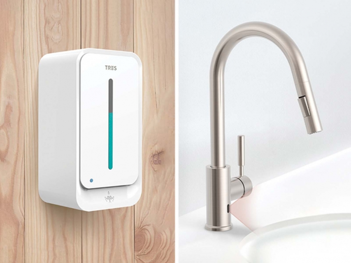 Electronic faucet by Tres.