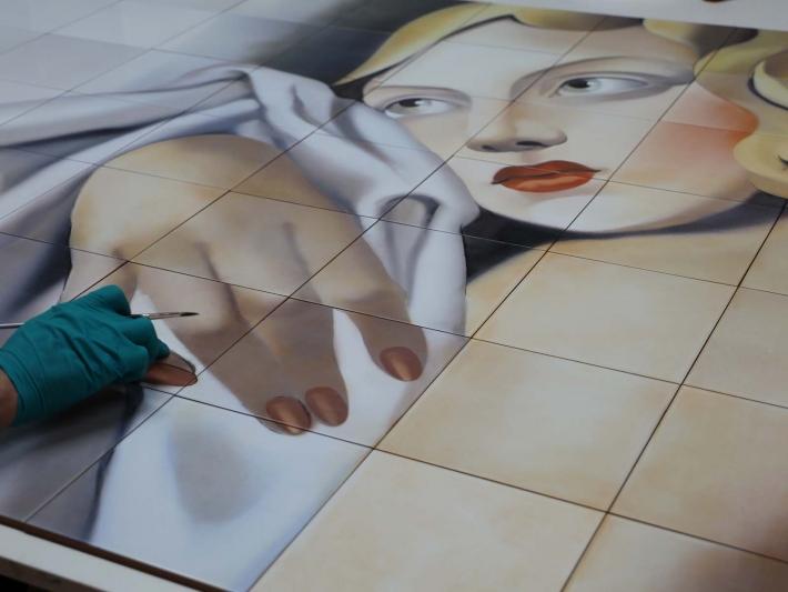Muestra pictórica Bathco Atelier.