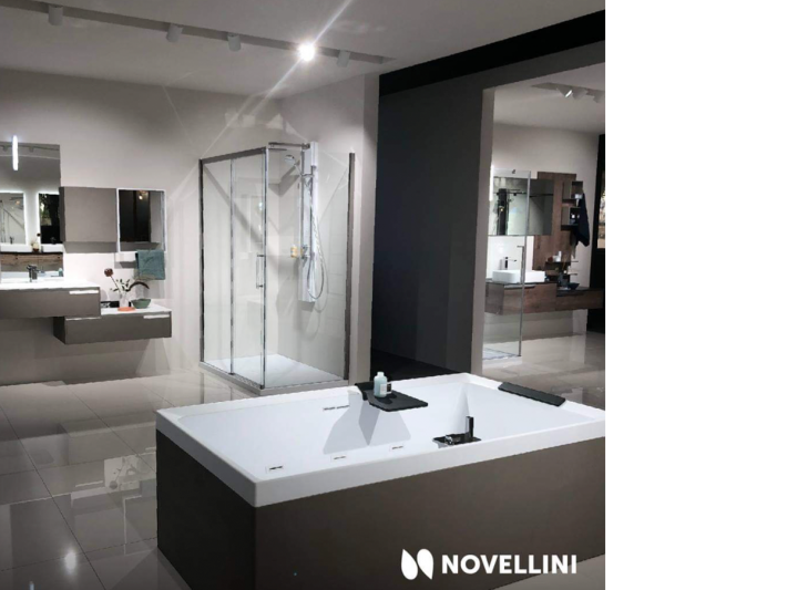 Novellini, new showroom.