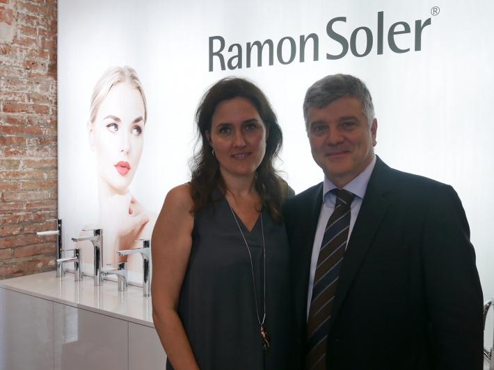 Carmen Barasona and Jordi Soler.
