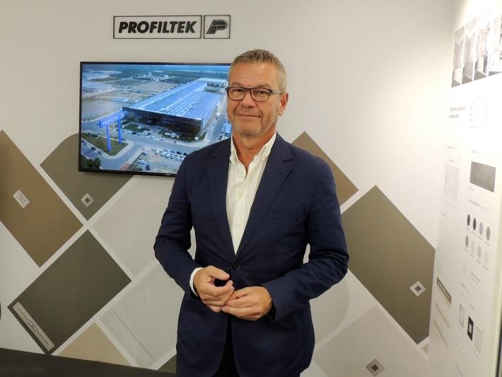 Félix Lafuente, Profiltek managing director.