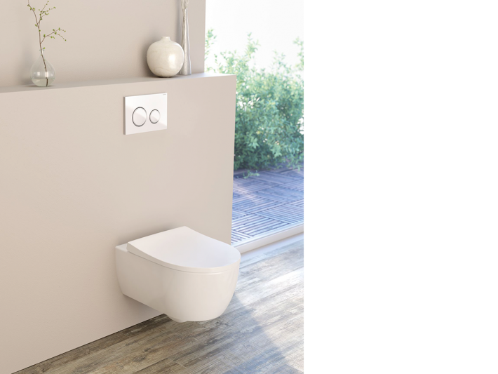 Geberit Sigma21 with iCon WC.