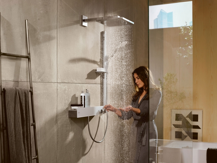 Hansgrohe presenta el conjunto de ducha Raindance E