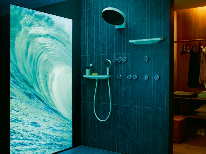 RainTunes by Hansgrohe.