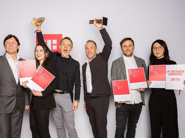 iF design award.