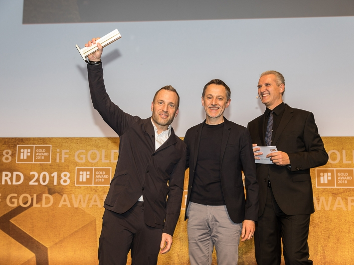 Michael Seum, Vice President of Design for Grohe, iF Design Award 2018.