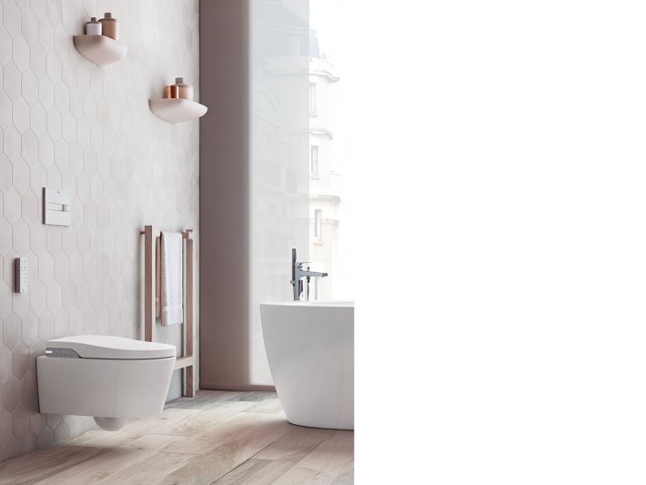 In Wash® by Roca, smart toilet.