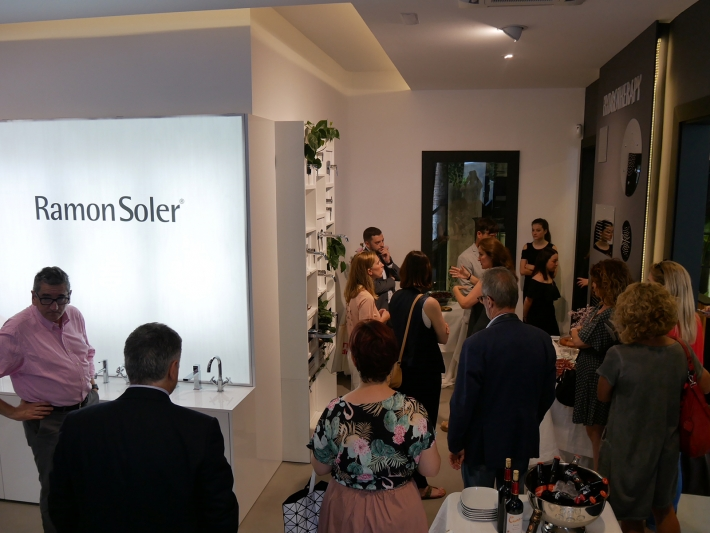 Ramon Soler flagship store inauguration.