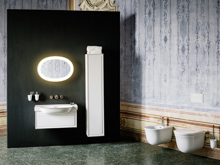 The New Classic designed by Marcel Wanders for Laufen.
