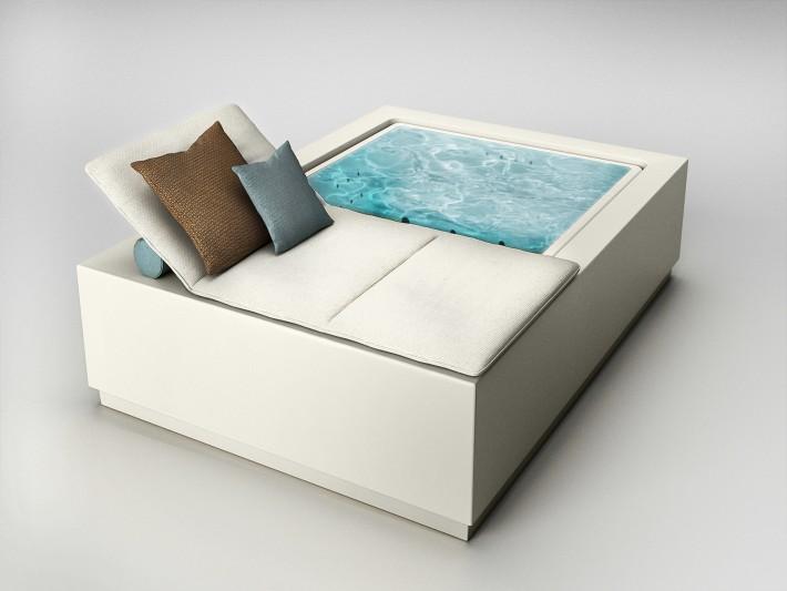 Zucchetti Kos_Quadrat Pool Relax.