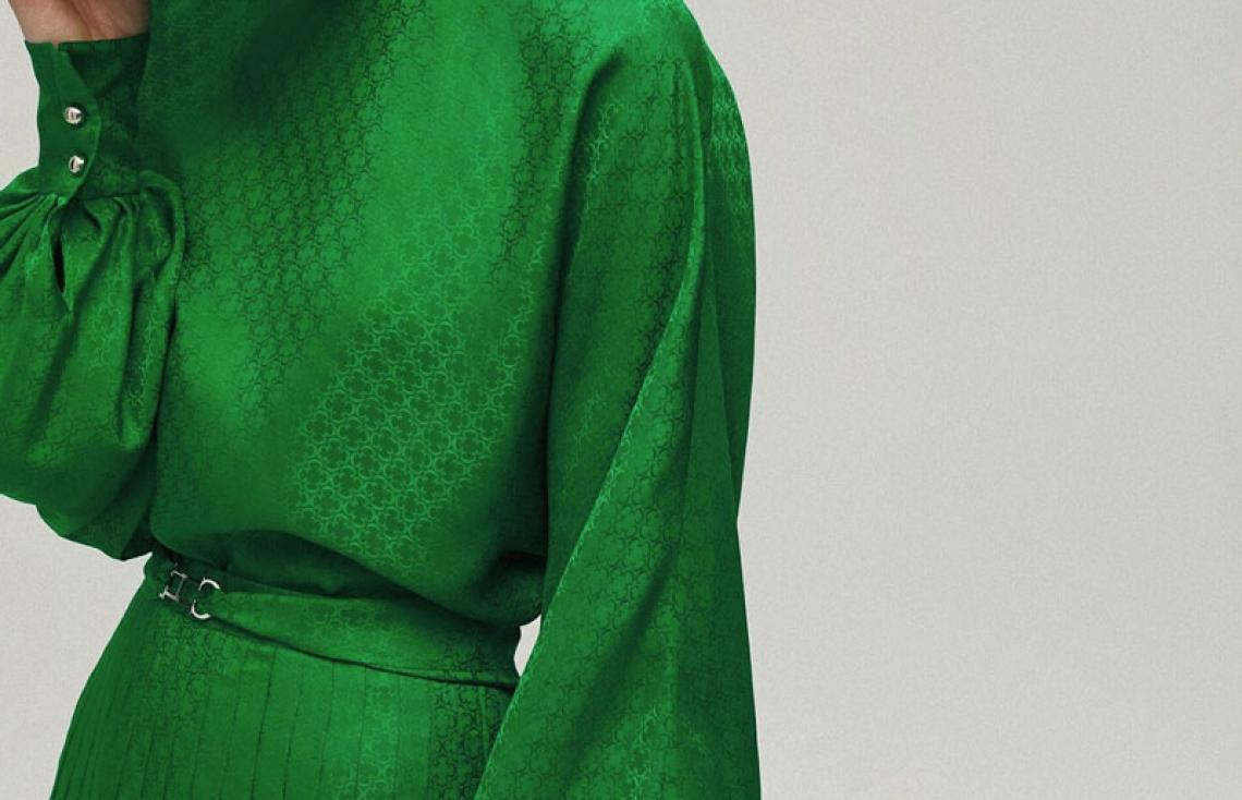 El verde de Carolina Herrera