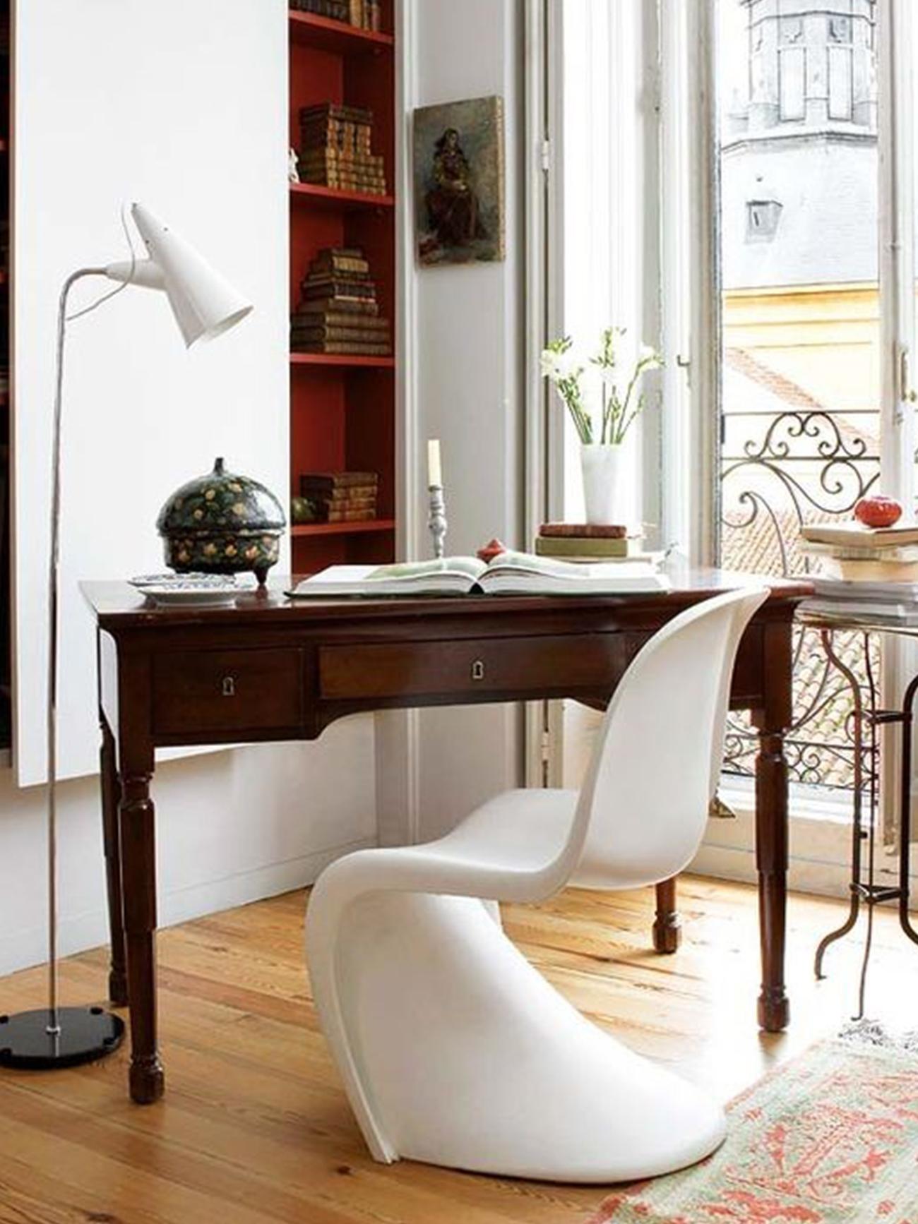 Espacio de trabajo en casa de Gärna Studio.