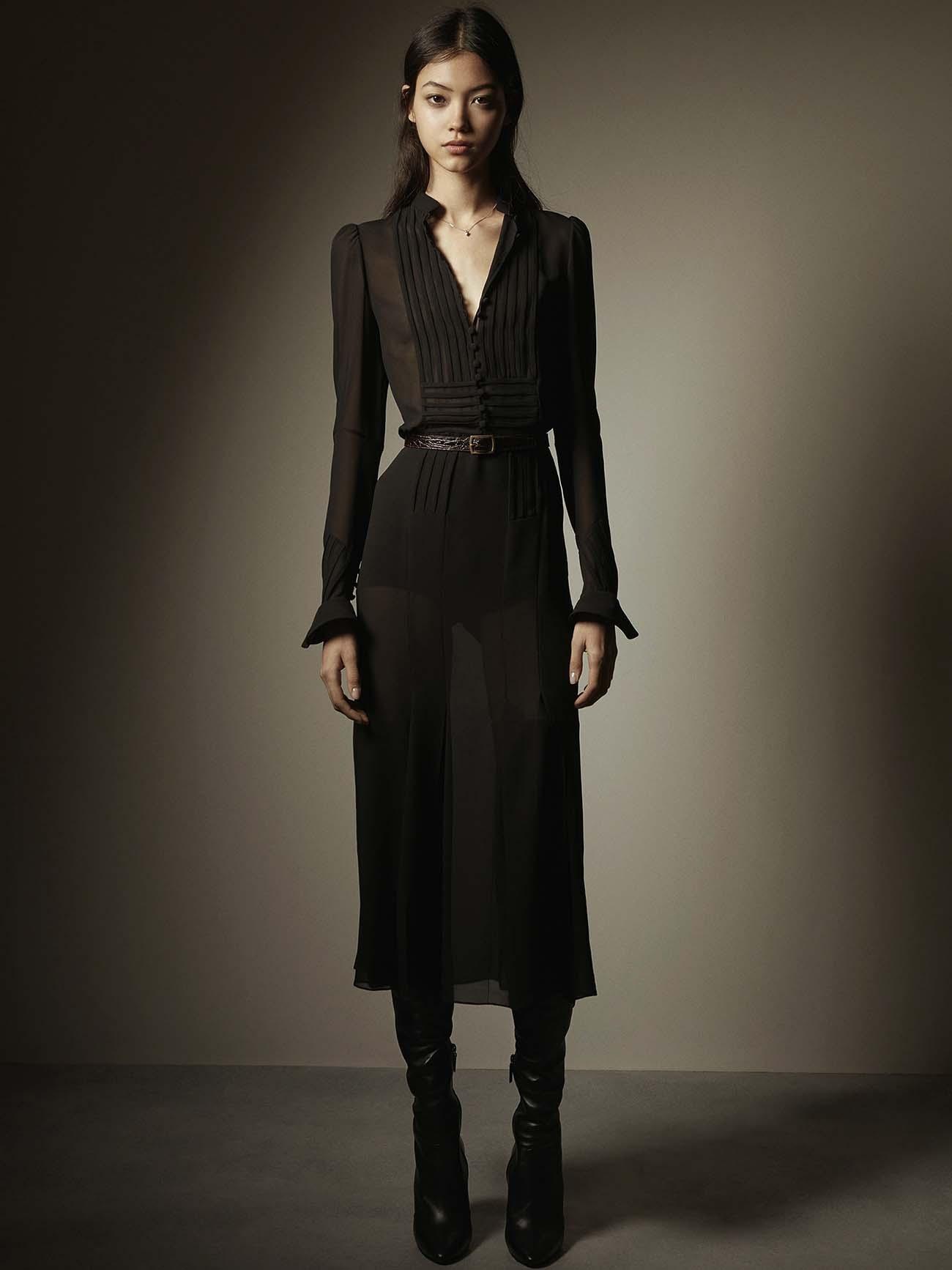 El negro de Yves Saint Laurent.