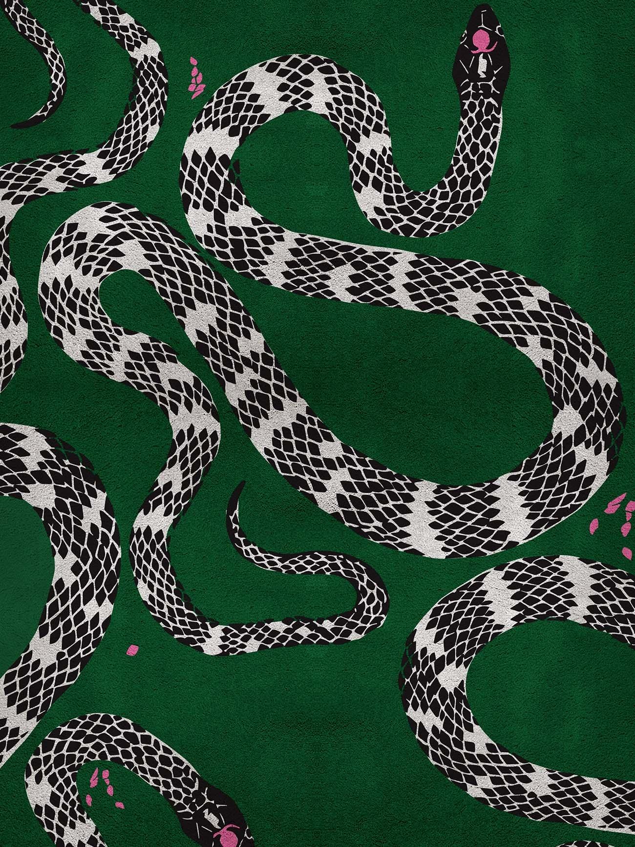 Alfombra Snake de Rug