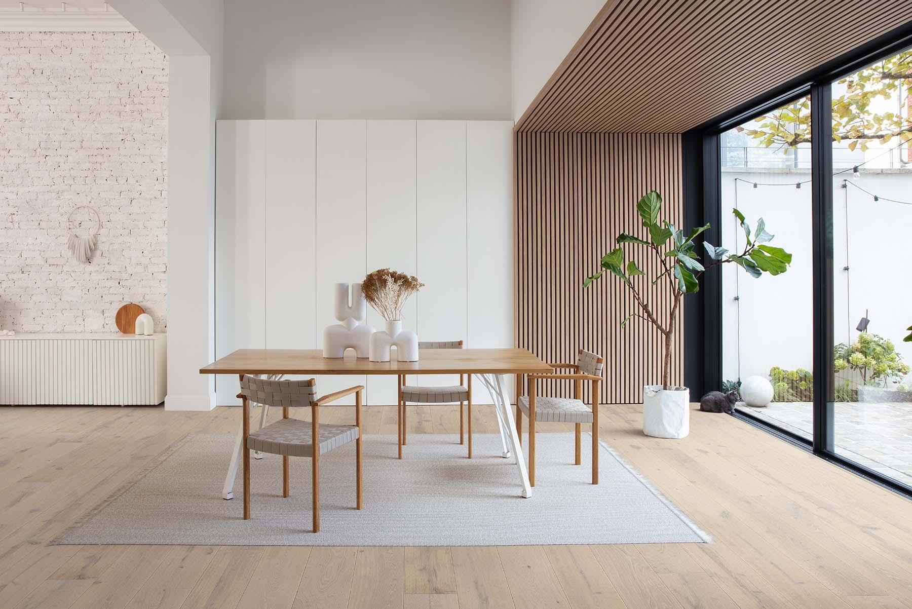 El nuevo minimalismo aporta calidez.
