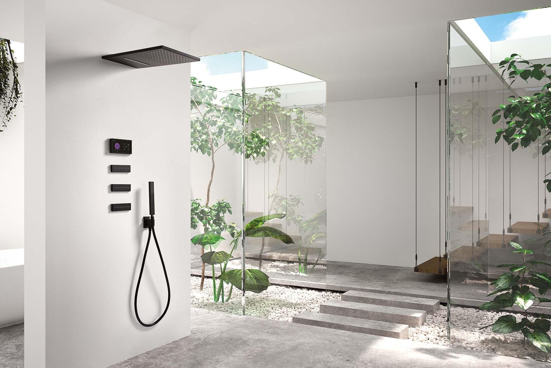 Shower technology Blue Edition de TRES.