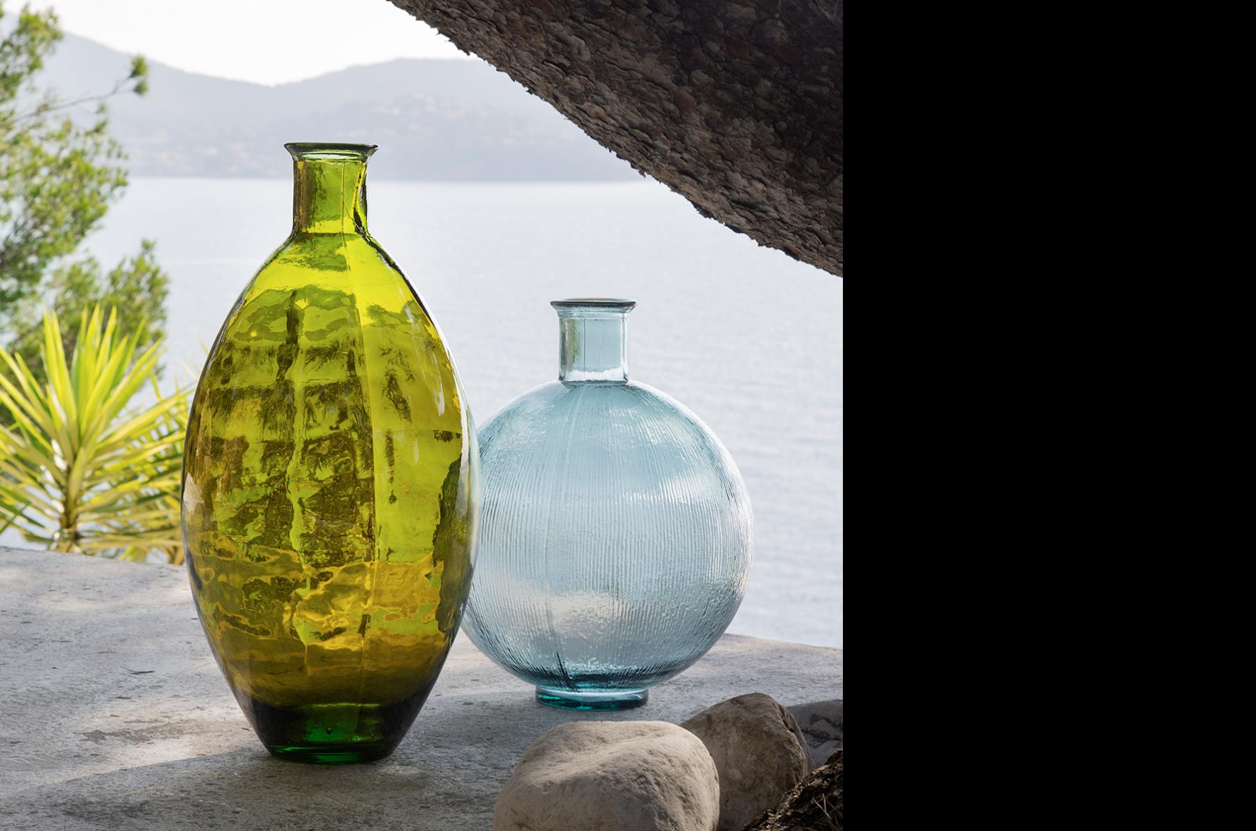 El vidrio reciclado, uno de los protagonistas del verano.