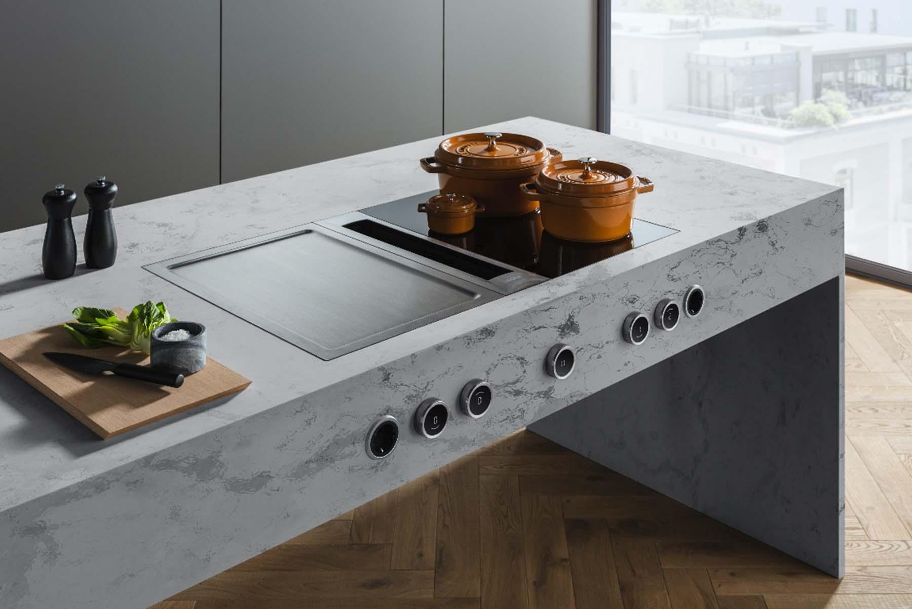 Funcionalidad y diseño en la cocina con BORA.
