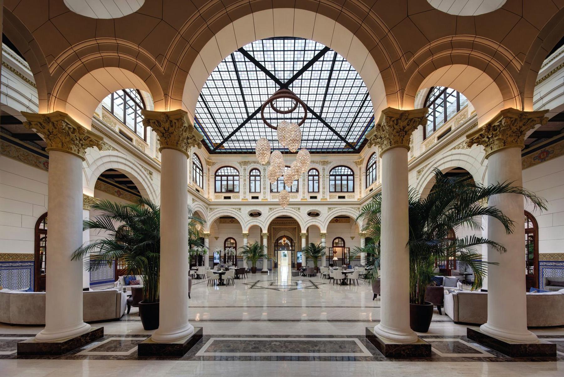 Gran Hotel Miramar en Málaga.