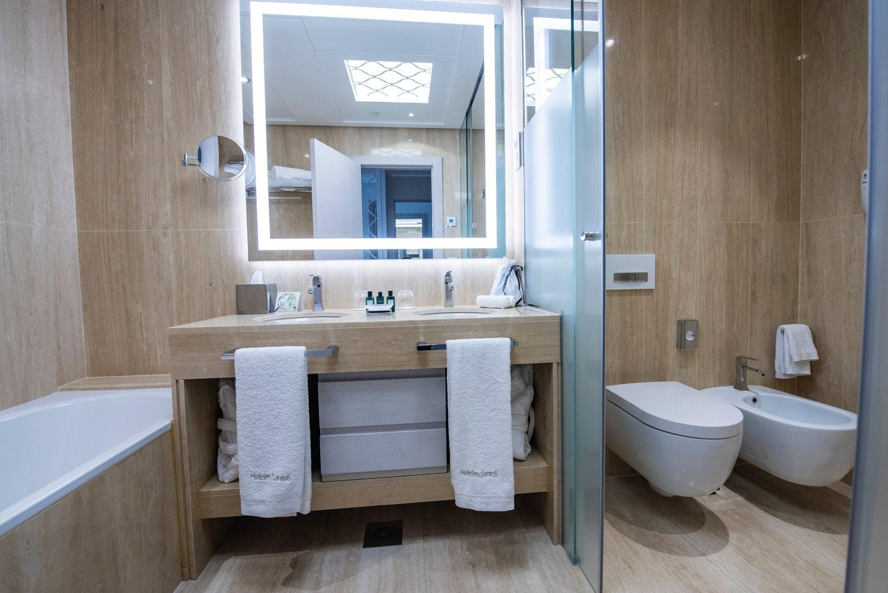 Geberit en el baño del Gran Hotel Miramar en Málaga.