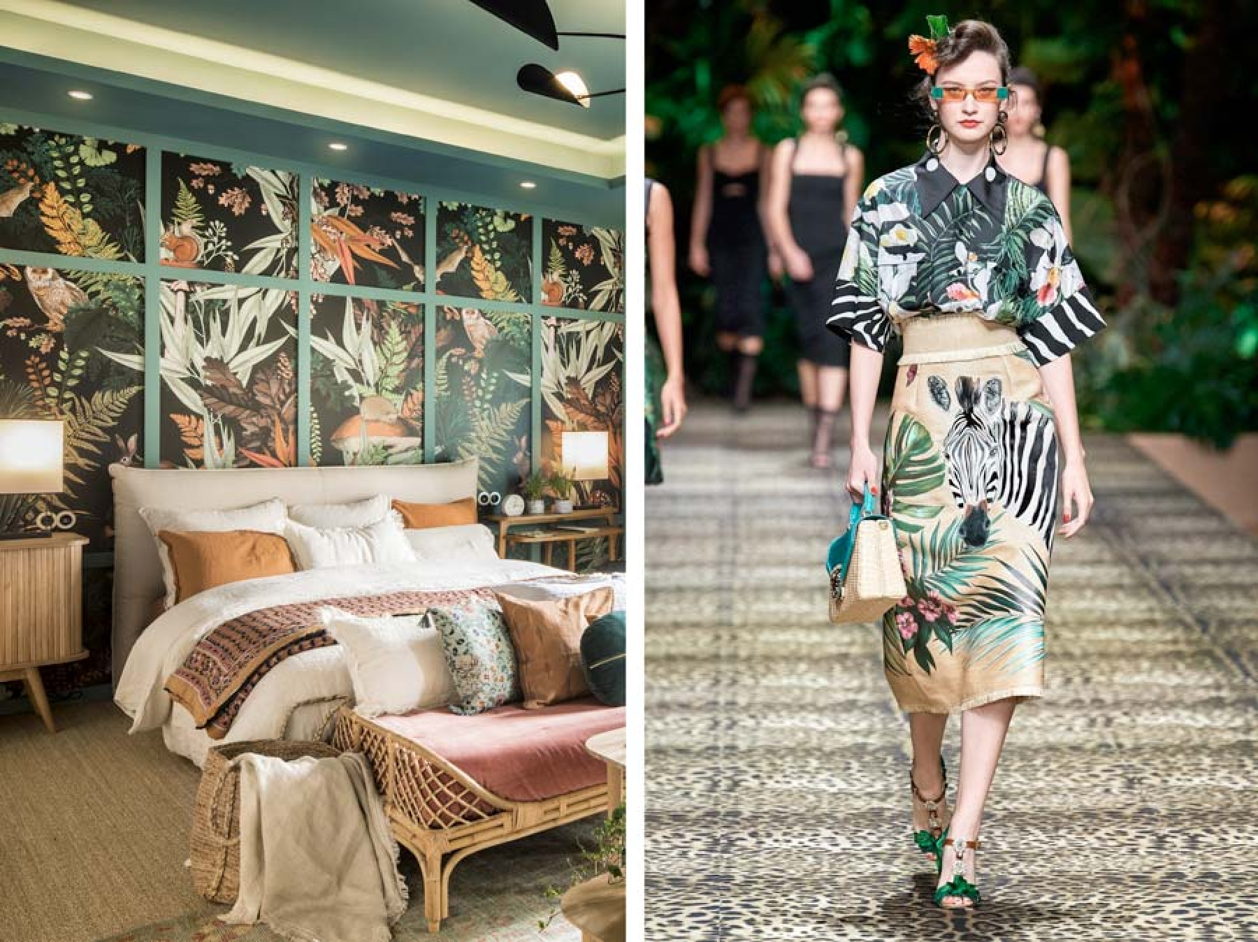 Espacio La Redoute por Mónica Garrido/ Dolce&Gabbana Spring 2020.