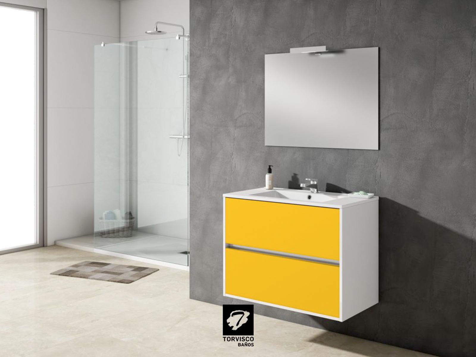 Nuevos colores vibrantes para el mueble de ba o taiga de - Torvisco group ...